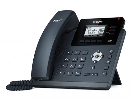 Yealink T40P IP Telefon PoE Destekli - Adaptörsüz