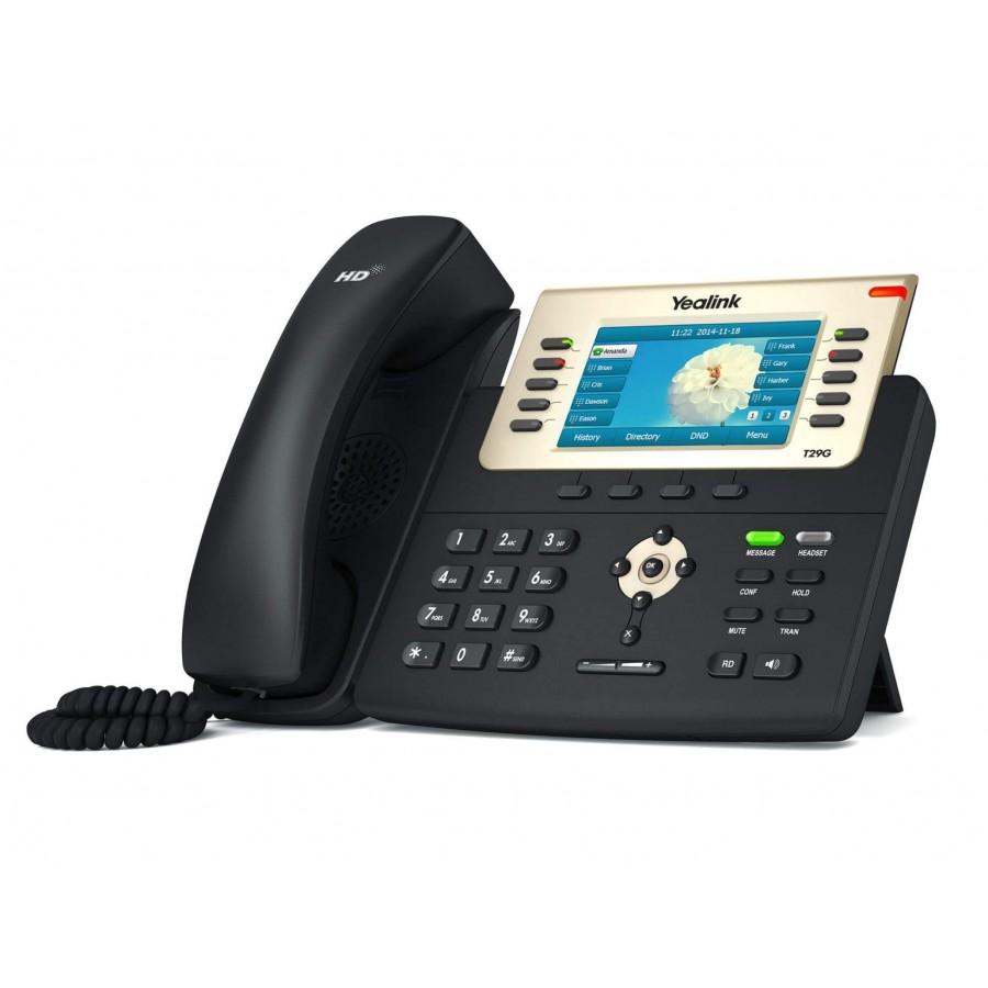 Yealink T29G IP Telefon PoE Destekli