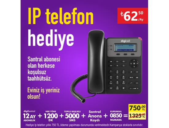 IP Telefon Hediye Kampanyası