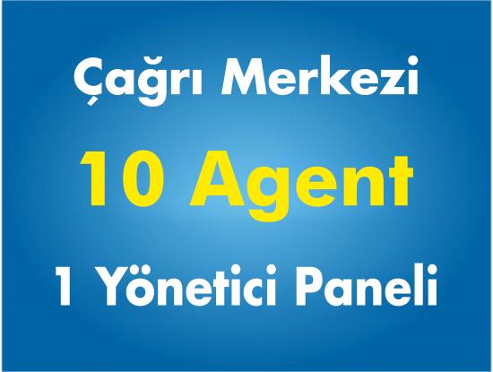 10 Agent Çağrı Merkezi