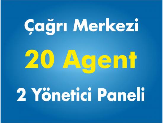20 Agent Çağrı Merkezi