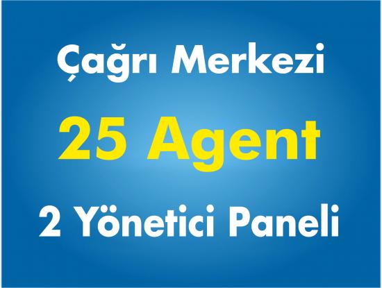 25 Agent Çağrı Merkezi