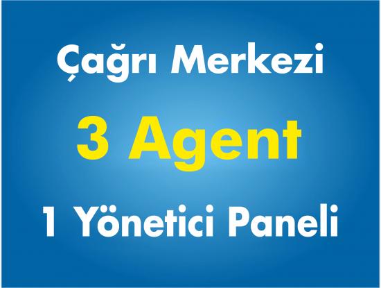 3 Agent Çağrı Merkezi