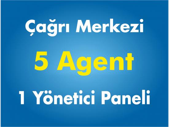 5 Agent Çağrı Merkezi