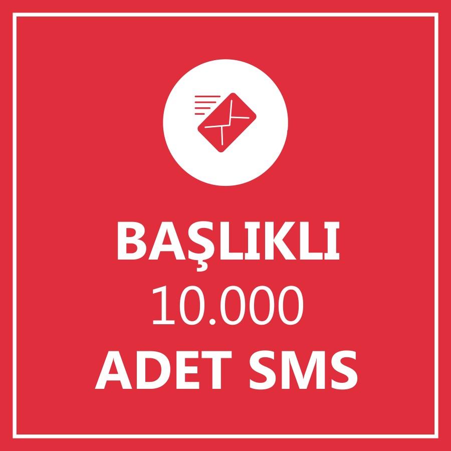10000 Toplu SMS Başlıklı
