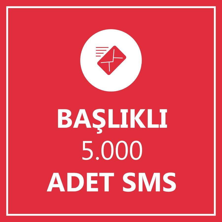 5000 Toplu SMS Başlıklı