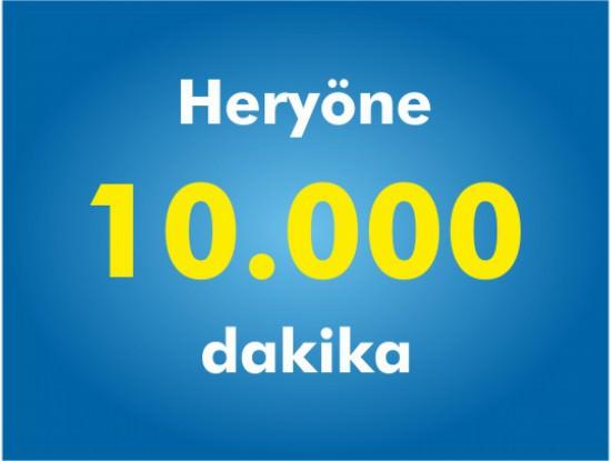 Ek 10000 Dakika Paketi