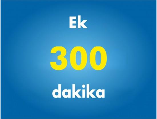 Ek 300 Dakika Paketi